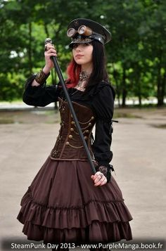 Artist on Steampunk Tendencies Maureen Lefort Alternativ 15 years old model from France and Steampunk is one of her favorite style https://www.facebook.com/groups/steampunktendencies/