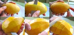 How to Peel and Slice a Mango | SheSimmers