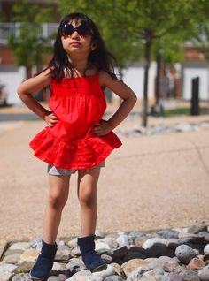 #Attitude #glasses #red #flowers #cute #pretty #blog #floral #grey #denim #jacket #style #gap #serena #bright #happy #toddler #girl #toddlerfashion #fashionista #gray #fashion #blogger #quinoatoddler #blue #booties