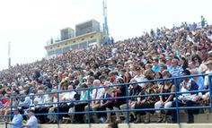 Friends and family fill the stands at Shippensburg University during the Undergraduate Commencement on Saturday, May 5, 2012. (Public Opinion/Ryan Blackwell)