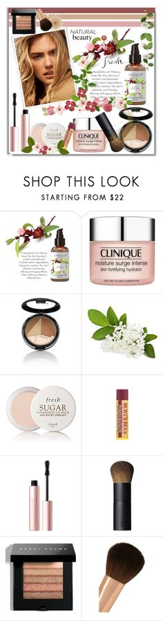 """""""Natural Beauty"""" by wendyfer on Polyvore featuring beauty, Clinique, Fresh, Burt's Bees, Too Faced Cosmetics, NARS Cosmetics, Bobbi Brown Cosmetics, Charlotte Tilbury and Grace"""