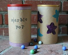 Marbles Fine Motor Activity for Toddlers from Buggy and Buddy - hands on : as we grow