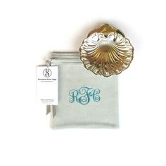 """Anti Tarnish 6"""" x 6"""" for Silver Storage, Monogrammed Sterling Silver Storage Bags, Zippered, for Holloware, Silverware, Simple Elegance Collection. Find it on Etsy. 1"""