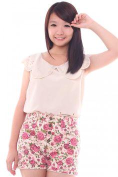 heetheadz.com high waisted floral shorts (17) #highwaistedshorts