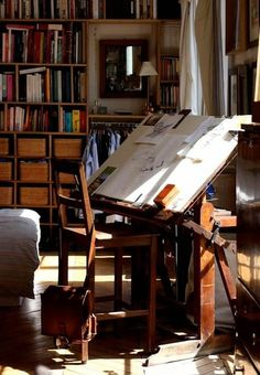 Drafting Table, I always wanted one like this