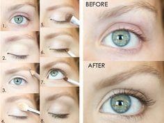 Eye Make-Up Tutorial NO make-up, make-up