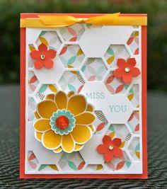 Krystal's Cards: Petal Potpourri Class Final Card