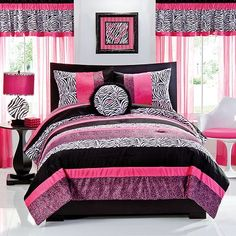 Teen Girl Bedrooms comfy post ref - Simply Exciting teen room suggestions. Categorized under diy teen girl room desks , nicely generated on this perfect moment 20190306 Pink Bedrooms, Bedroom Sets, Girls Bedroom Bedding, Small Room Design, Teenage Girl Bedroom Designs, Teenage Girl Room, Bedroom Design, Girl Room, Zebra Bedroom