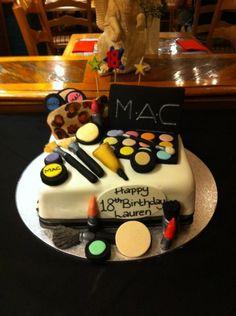 donotcockblock:  My friends AMAZING birthday cake! I'm so jealous, it looks so fucking good!