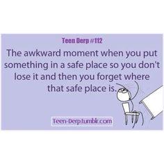 Teen derp:)