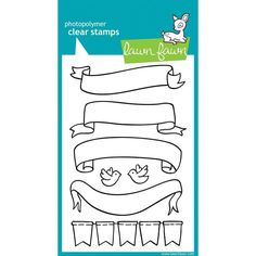 Lawn Fawn Clear Stamp Set - Bannerific