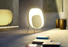 Foscarini S Orbital Is A Floor Lamp With Diffused Light