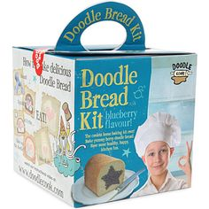DOODLE COOK Doodle Bread blueberry kit