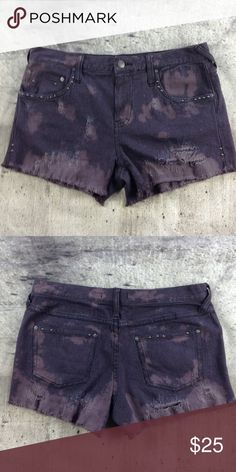 "Free People shorts Free People shorts cotton and spandex blend inseam 3"" rise 9.5"" Free People Shorts"