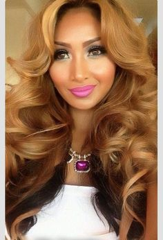 Weave Crush!!! Nicely dyed and curled.