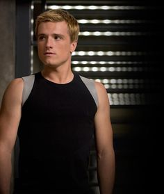 Josh Hutcherson as Peeta Mellark,  The Hunger Games: Catching Fire.