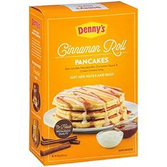 Dennys Pancake Mix Cinnamon Roll ** Want additional info? Click on the image.(This is an Amazon affiliate link and I receive a commission for the sales)