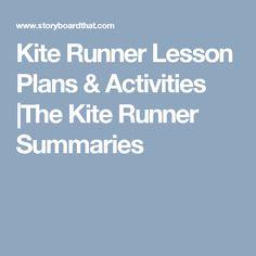 The Kite Runner By Khaled Hosseini Lesson Plans The Kite Runner How To Plan