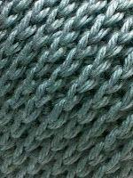knit look crochet hat