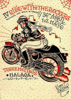 Don Diablo- Ride With The Rockers 2011 Cafe Racer by bullittmcqueen, via Flickr