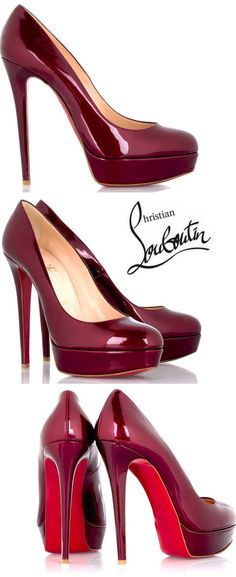 #heels #shoes #fashion #style #christian #louboutin #red