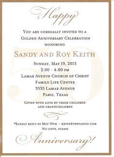 25th Wedding Anniversary Invitations                                                                                                                                                                                 More