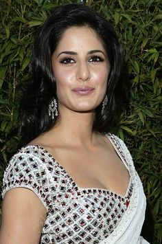 Katrina Kaif In Saree At Night Of India Splendor Event in Beverly Hills (1)