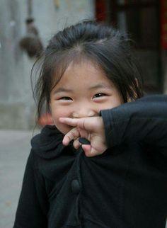 Sweet little smile