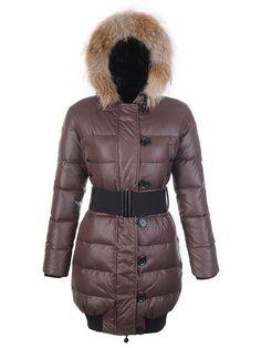 Moncler Pop Star Coat,Moncler Lucie Pop Star Womens Long Down Coats Coffee - $220.15 Moncler Coats www.monclerlines....