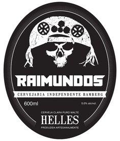 Cerveja da banda Raimundos. Cervejaria Bamberg. Votorantim-SP.