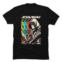 Why settle for one villain when you can get four versions of Kylo Ren lined up on the Star Wars Episode VII Kylo Ren Copies Black T-Shirt? An edgy distressed print on the front of this epic black Star Wars Episode VII shirt shows Kylo Ren holding his Star Wars Kylo Ren, Episode Vii, Star Wars Tshirt, Casual, Star Wars Episodes, Black Star, Cool T Shirts, Tee Shirts, Graphic Tees