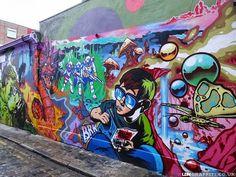 Urban Graffiti Art - Update 3 // Mr Pilgrim Street Art Online