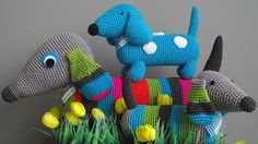 cute crochet dachshund must try to find a pattern
