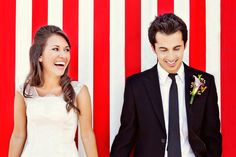 Striped photo booth background By Caroline Ghetes