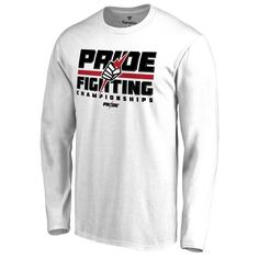 UFC Pride Long Sleeve T-Shirt - White