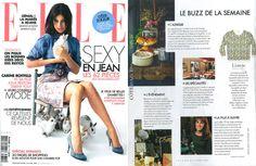 @magazineellefr parle de notre sweat printanier #avril2015 #tendance mode #1789cala