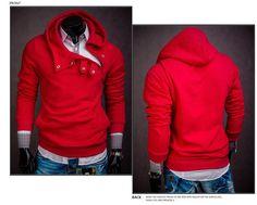 2016 Best Selling Men's Slim Fit Sudaderas Hombre Hip Hop Stitching Hedging Hoodie Sweatshirt Suit