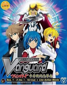 DVD ANIME CARDFIGHT VANGUARD Season 1-3 Vol.1-163End + Live Action Movie Region All / Free Shipping