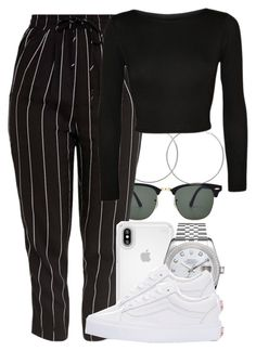 """Untitled #5496"" by dianna-argons-lover ❤ liked on Polyvore featuring Ray-Ban, Diya, Speck, WearAll, Rolex and Vans"