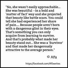 """Alfa — """"Survivor""""  © Alfa   #survivor..."""
