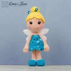 Ella the Fairy Amigurumi - PDF Crochet Pattern - Instant Download - Amigurumi crochet Cuddy Stuff Plush