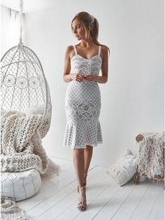 White Dresses For Women, Dresses For Teens, Casual Dresses, Fashion Dresses, Ankara Fashion, Ladies Dresses, Flattering Dresses, Dresses Online, Lace Homecoming Dresses
