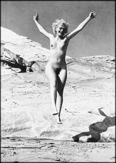 """""""Happy Days"""" for a """"Foster Kid""""... """"Norma  Jeane Baker"""". AKA Marilyn Monroe. by ™. ps, My Thanks to """"Pinterest"""". for the Photograph. ted."""