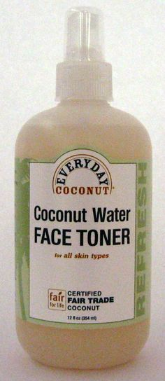 The most natural face toner I have EVER used!  It's also so much cheaper than all the dept. store stuff.