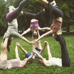 This is group yoga