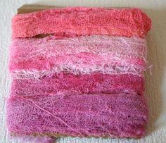 Cotton Scrim Ribbon Pink