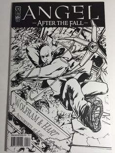 Angel After The Fall IDW 2007 #4 B Comic Book VF-NM  COVER RI-A SKETCH VARIANT