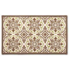 Blue Patterned Comfort Kitchen Floor Mat 34X22  Threshold Impressive Kitchen Mats Target Design Ideas