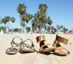 #TravelwithFrye | Venice Beach, California | The Frye Company - Ricky Ring + Carson Ankle Zip, available at www.thefryecompany.com