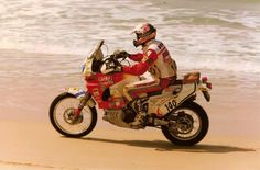 Roberto Boano, Honda Africa Twin, Dakar Rally 1998.